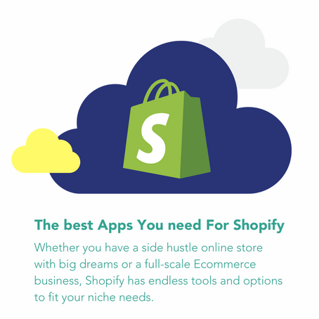 The best apps you need for Shopify