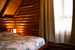 Cabaña 102. Habitación matrimonial.