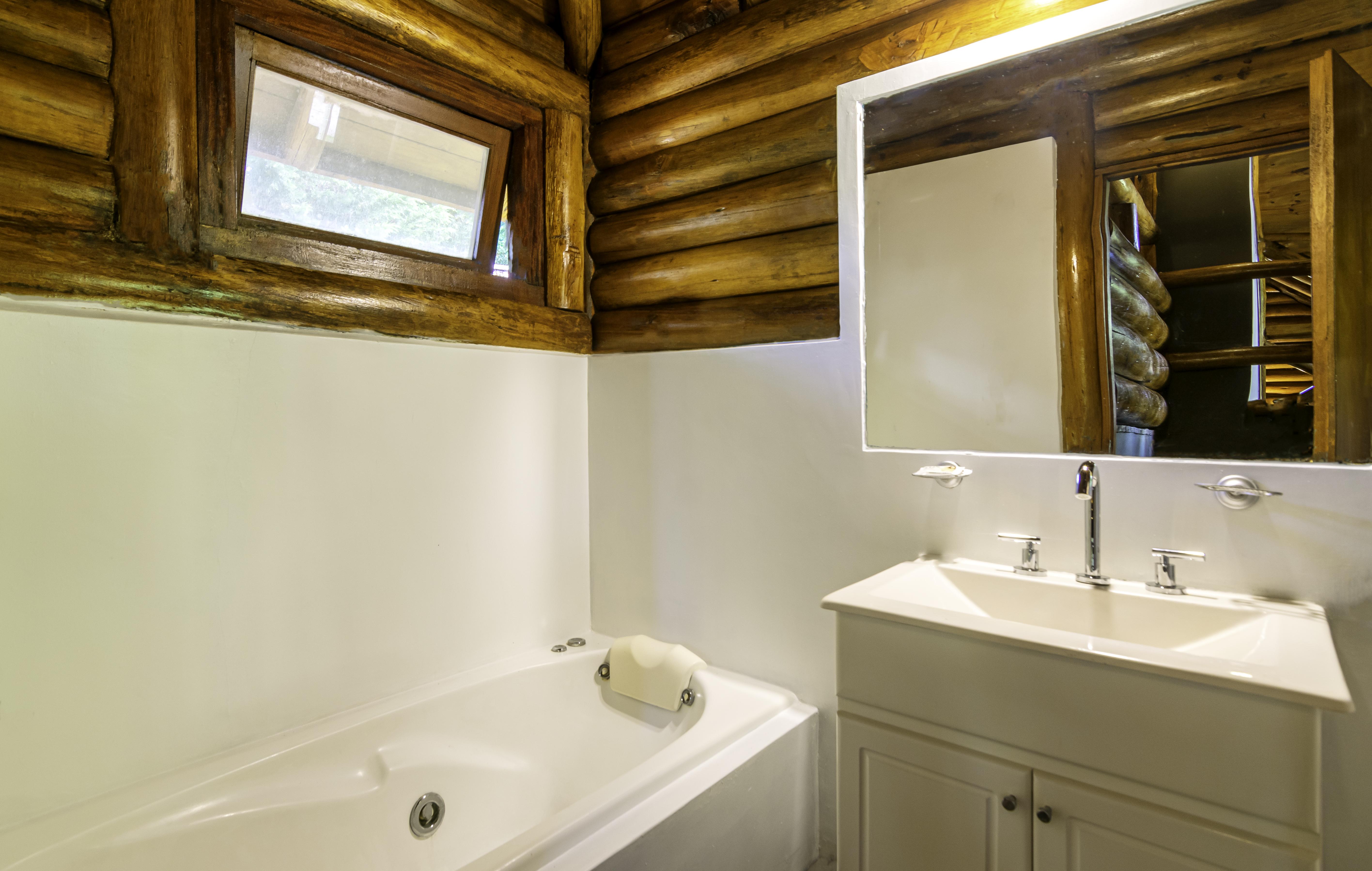Cabaña 103. Baño