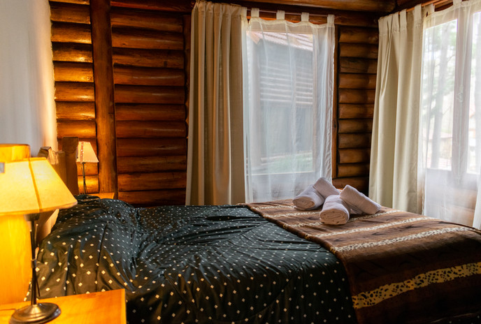 Cabaña 102. Habitación Planta Baja.
