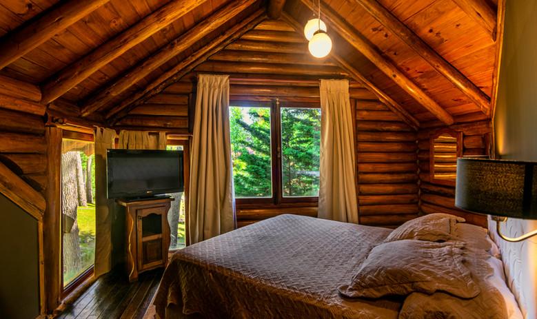 Cabaña 103. Habitación Matrimonial. .jpg