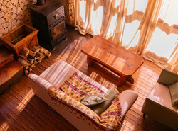 Cabaña 105. Living