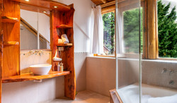 Cabaña 105. Baño P.A