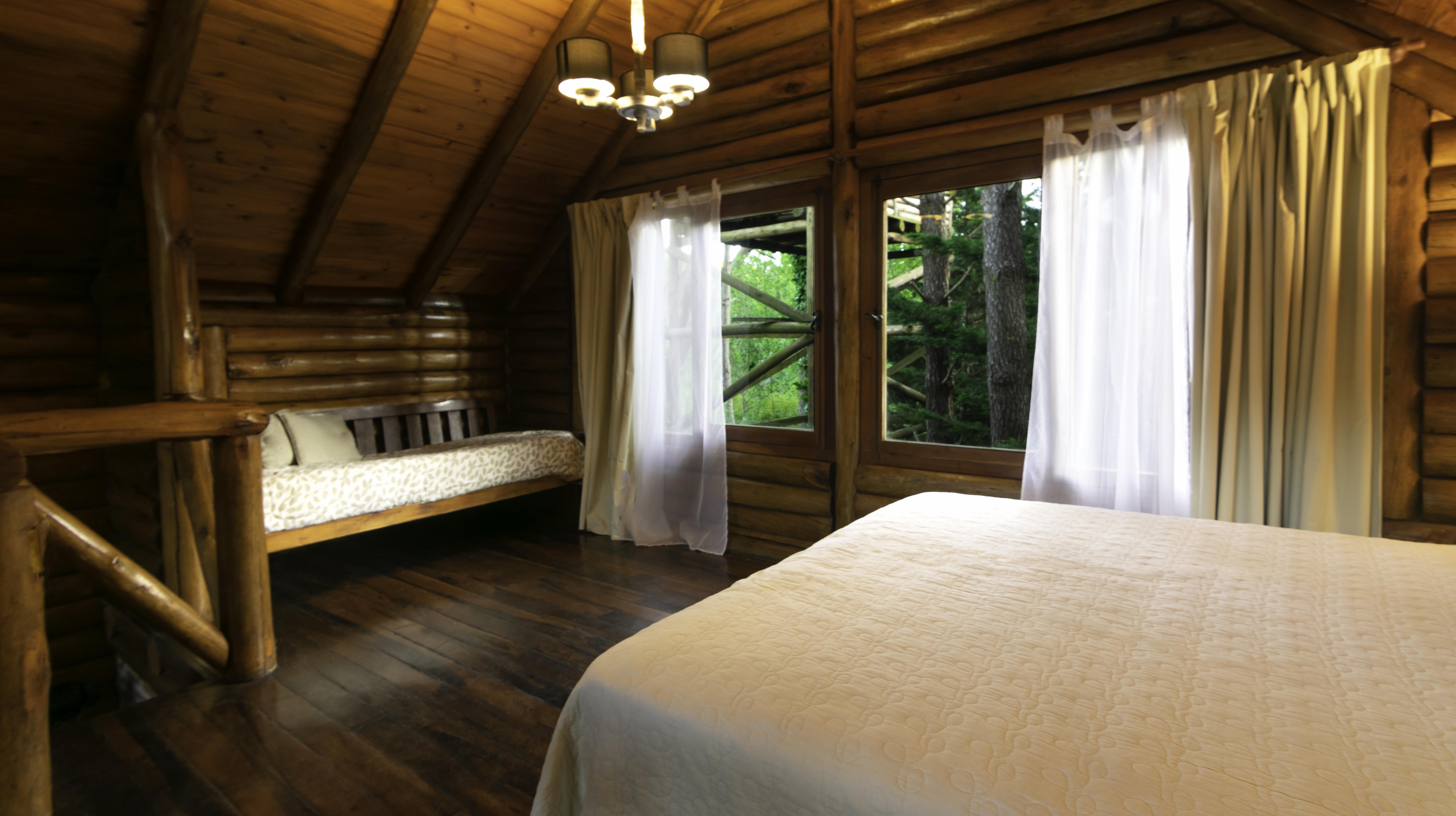 Cabaña 101. Habitación matrimonial