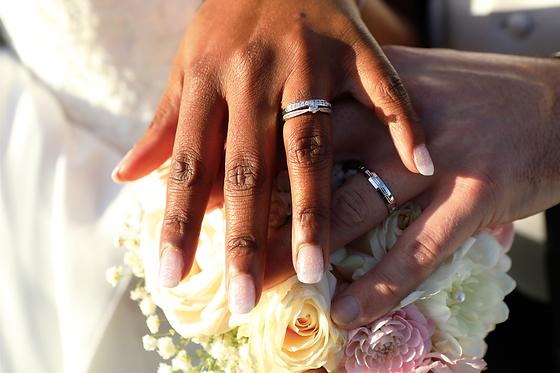 alliances mariés, bouquet_de_mariée, mariage_mixte