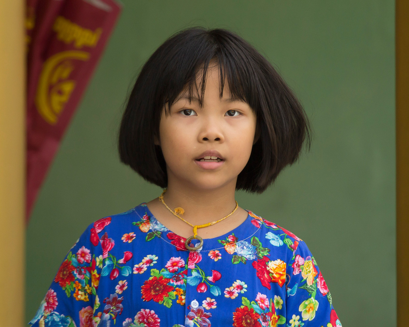 Young Burmese Girl
