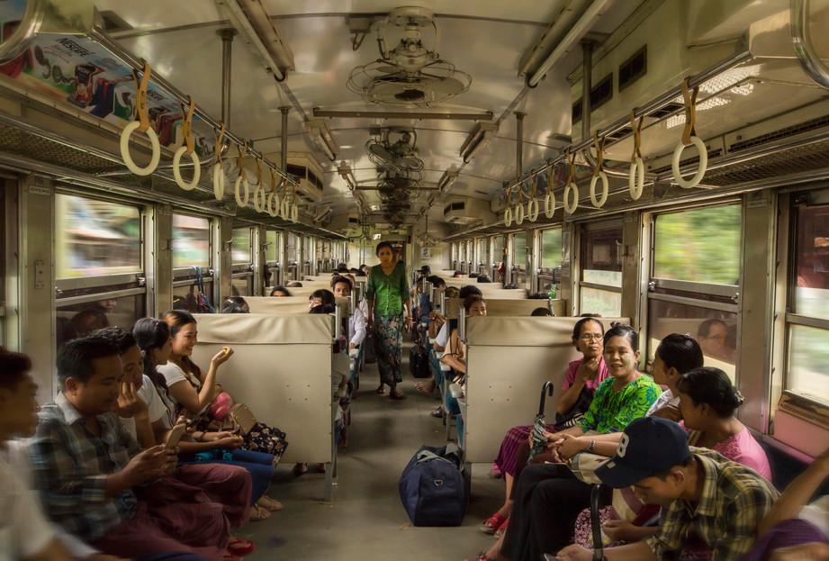 Yangon Circle Train