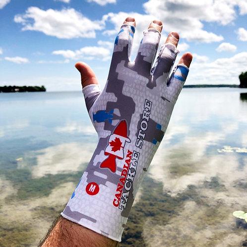 CTS UV Fingerless Compression Gloves