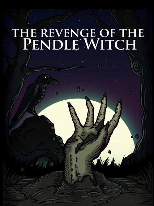 THE REVENGE OF THE PENDLE WITCH - paperback book