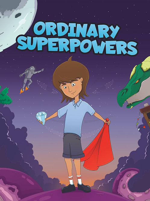 ORDINARY SUPERPOWERS - paperback