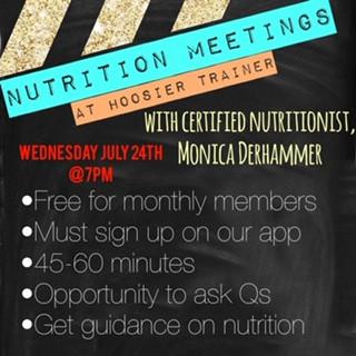 Nutritional Seminars