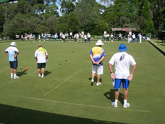 Lawn Bowls tournament