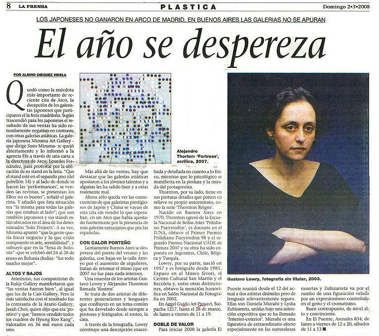 La Prensa, 2008