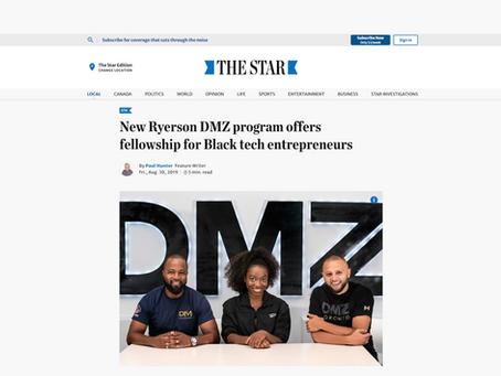 New Ryerson DMZ program offers fellowship for Black tech entrepreneurs