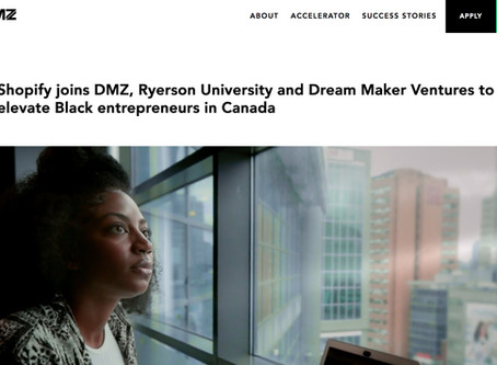 Shopify joins DMZ, Ryerson and Dream Maker Ventures to elevate Black entrepreneurs in Canada