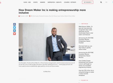 How Dream Maker Inc is making entrepreneurship more inclusive