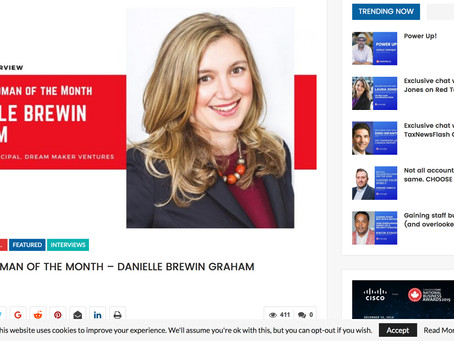 BUSINESS WOMAN OF THE MONTH – DANIELLE BREWIN GRAHAM