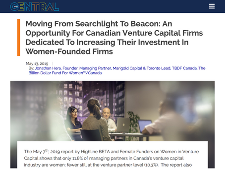 Moving From Searchlight To Beacon: An Opportunity For Canadian Venture Capital Firms