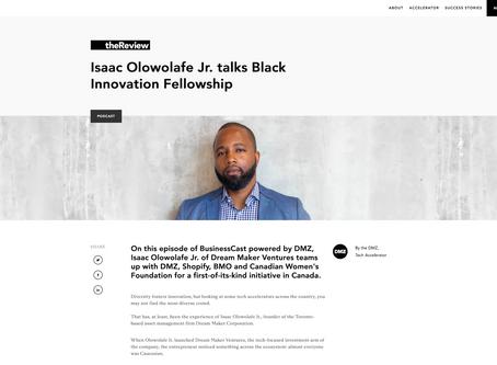 Isaac Olowolafe Jr. talks Black Innovation Fellowship