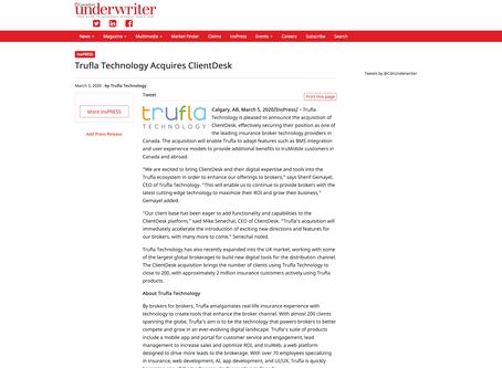 Trufla Technology Acquires ClientDesk
