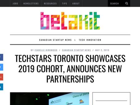 Techstars Toronto showcases 2019 cohort, announces new partnerships