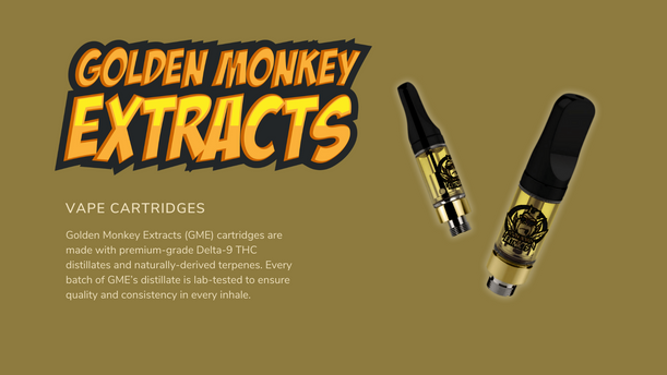 Golden Monkey Extracts Vape Cartrides 800mg Surrey Weed Delivery.png