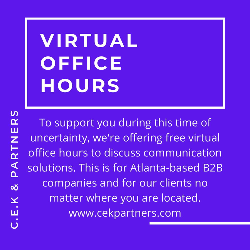 virtual office hours for B2B brands