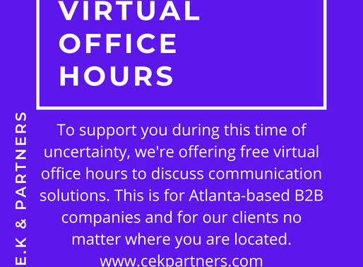 Offering Atlanta-based B2B Brands Communication Support