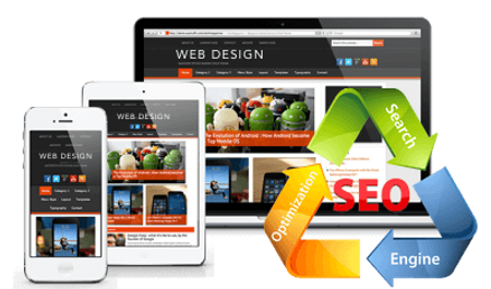 Web Design and SEO image