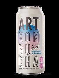 Hard Kombucha Hibisus & Passion