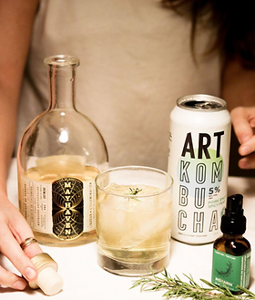 Cocktail Art kombucha alcoolisé hard kombucha