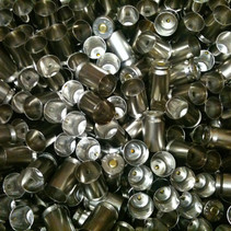 9mm primed nickle plated brass