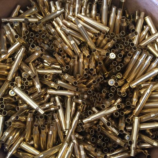 Mixed rifle brass