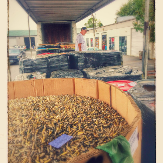 Special delivery of brass