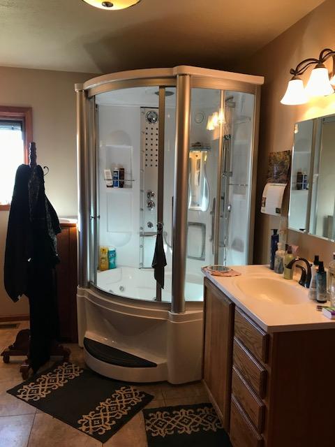 shower - master bath
