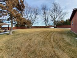 yard between 2 living areas