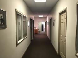 north complex hallway
