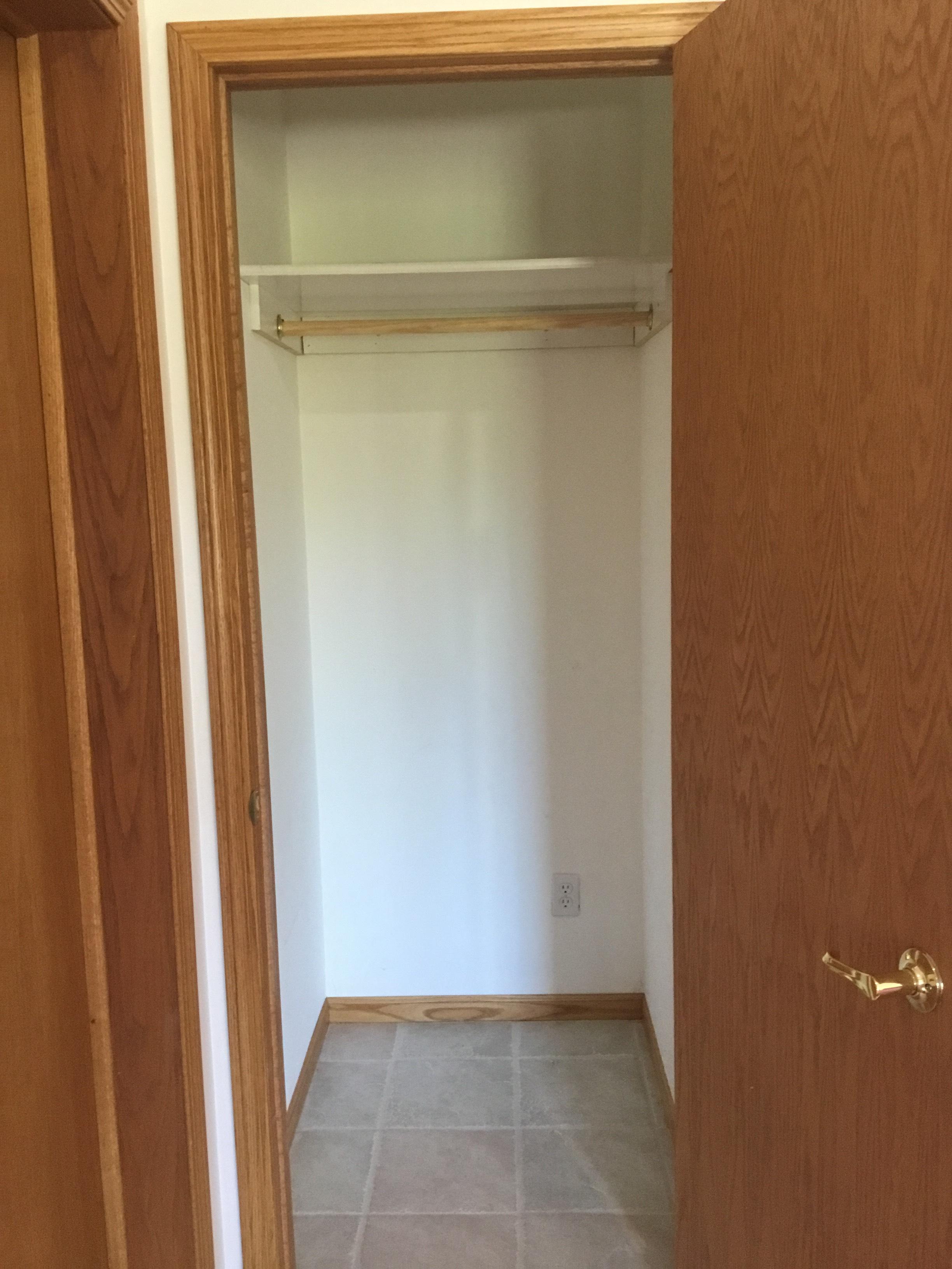 Basement Coat Closet