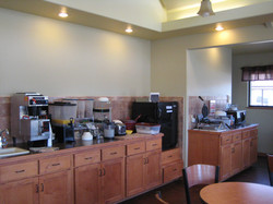 Motel Breakfast Counter