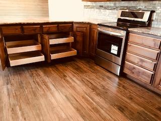 kitchen cupboards sliding drawers