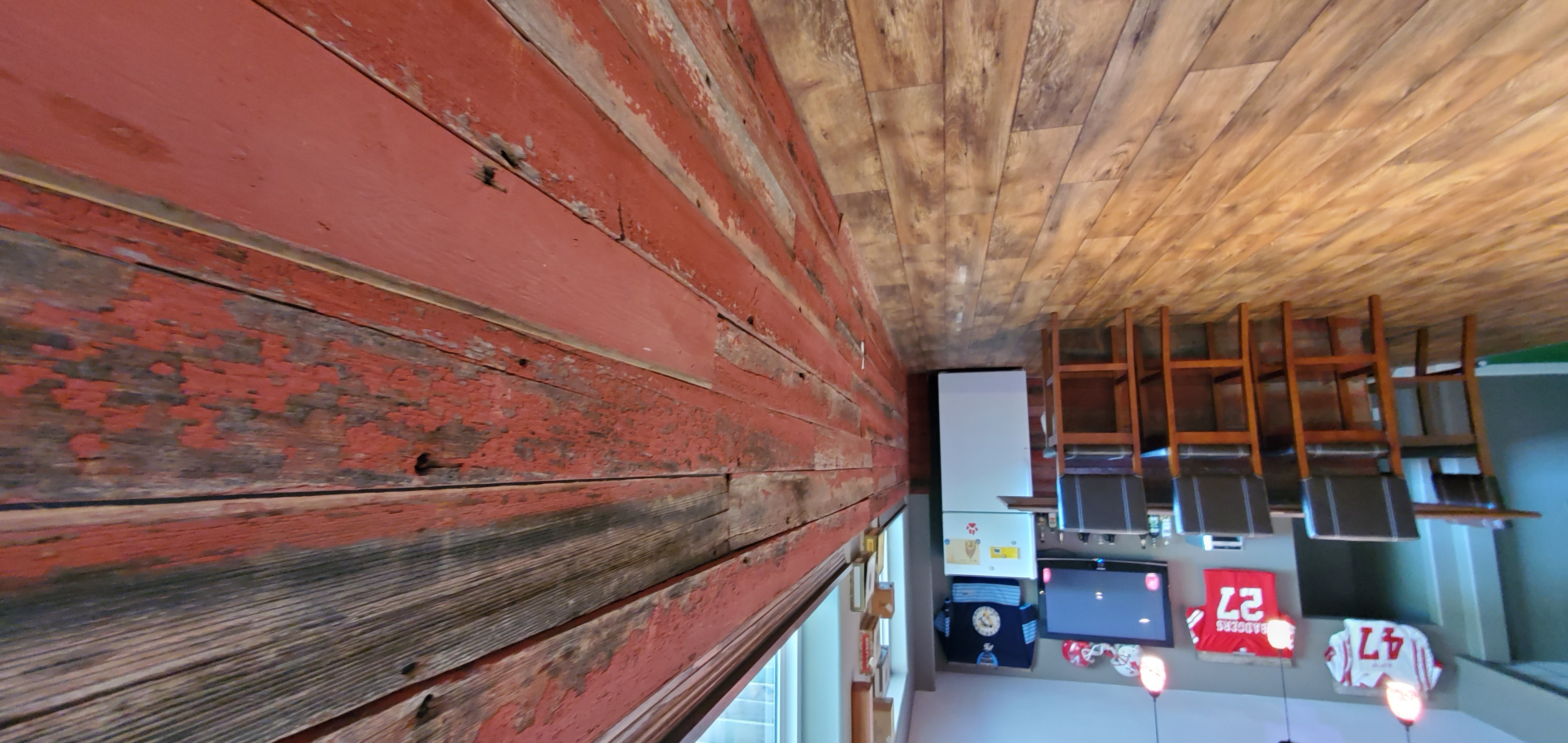 custom barnwood wall