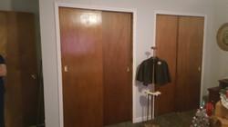 master bedroon closets