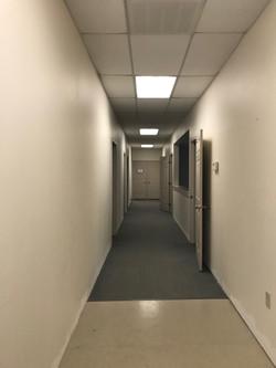 south building hallway
