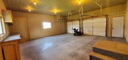 finished garage