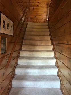 stairwell to loft
