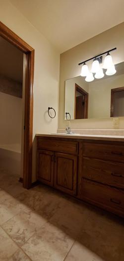 main floor bathroom