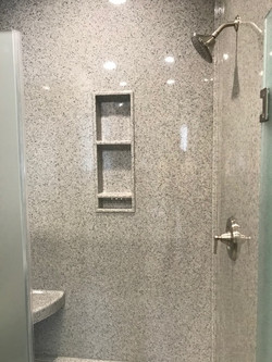 walk in shower unit B