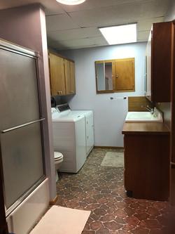 Basement Laundry and Bathroom 2