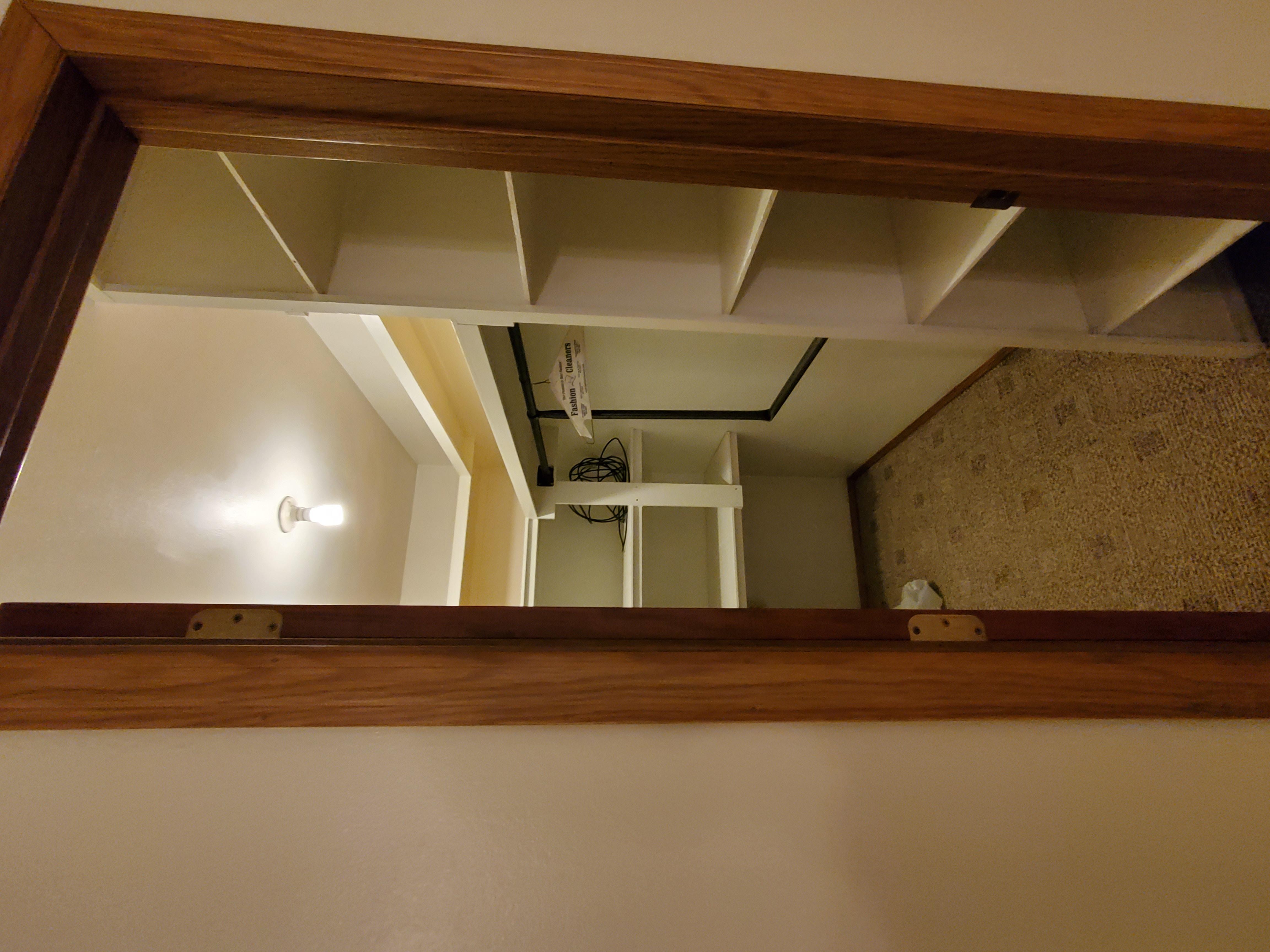 Addl Home Master Bedroom Closet