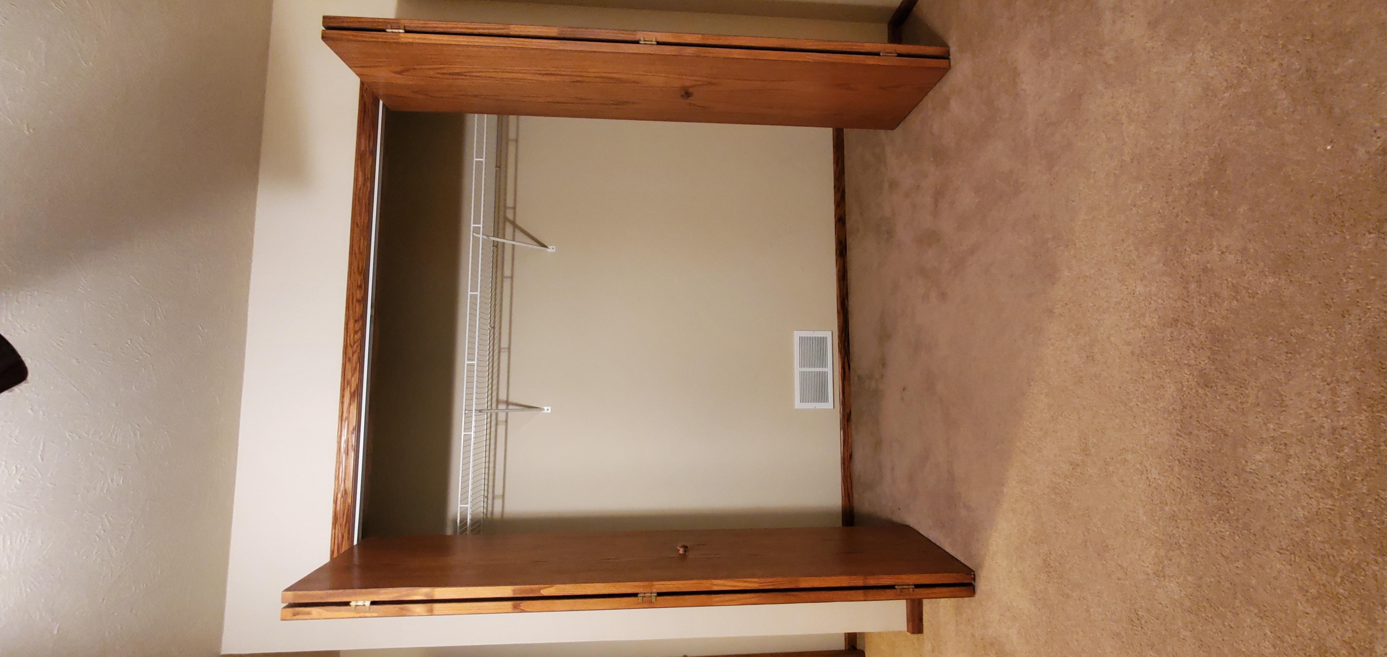 secondary bedroom closet